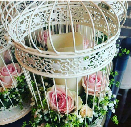 Flower Birdcages