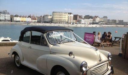 Morris Minor Convertible Wedding Car 1