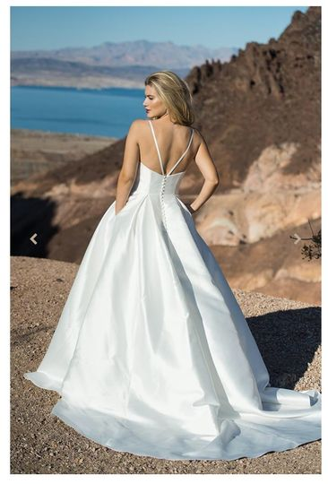 Thin-straps with a full skirt