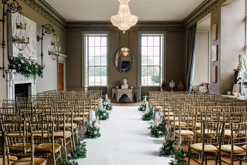Civil Ceremony in the Great Hall at Howsham