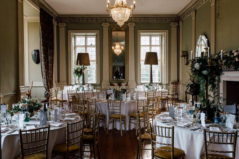 Wedding Breakfast at Howsham Hall