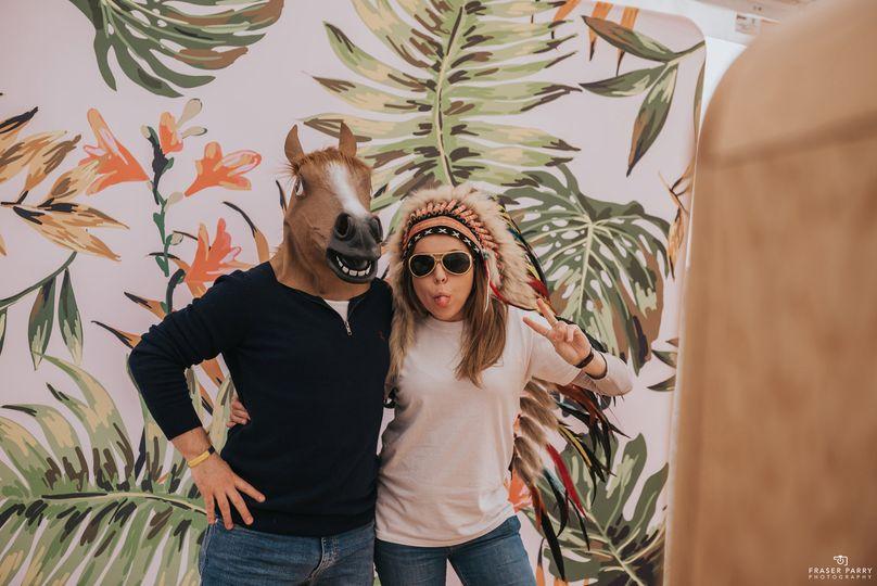 Fun masks and hats