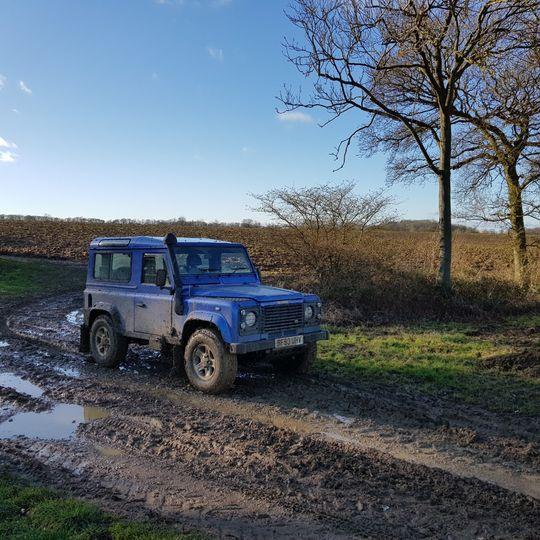 Muddy Arrival