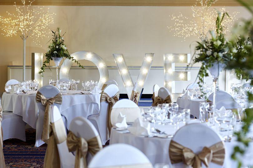 Elgar Suite - Wedding Breakfast