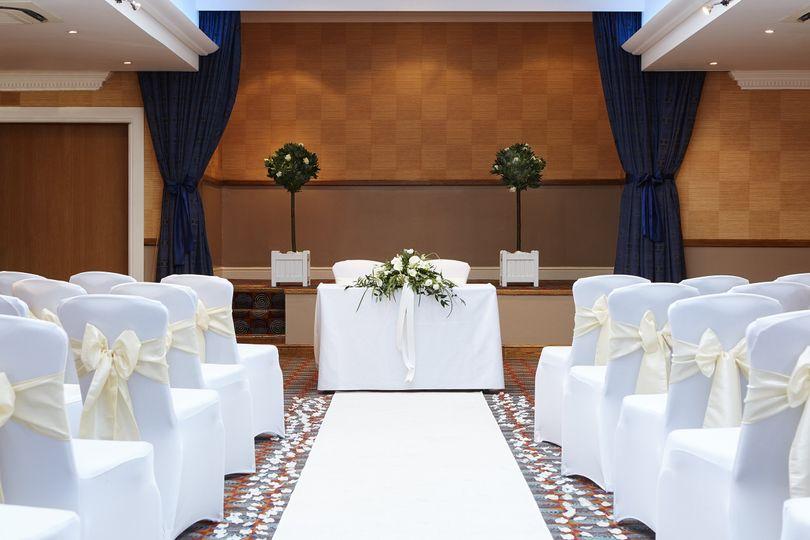 Shaw Suite - Wedding Ceremony