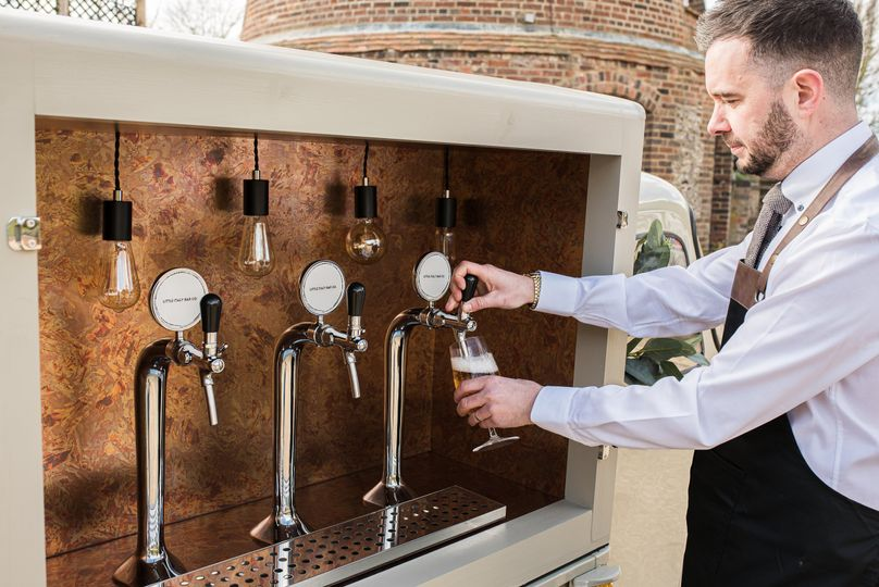 Lager on tap!