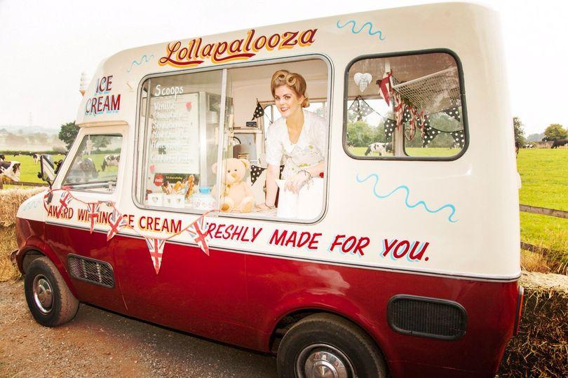 Vintage Ice Cream Van no.2