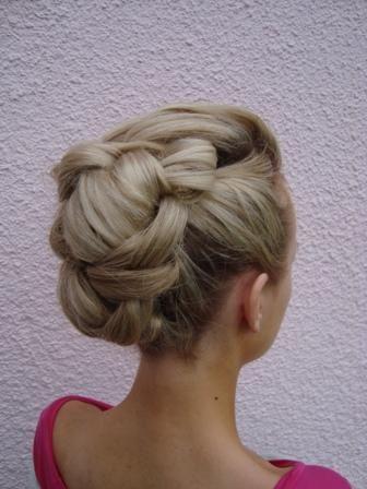 Unique bridal hair