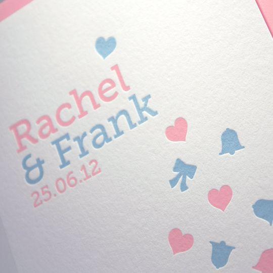'Confetti' Design - Letterpress