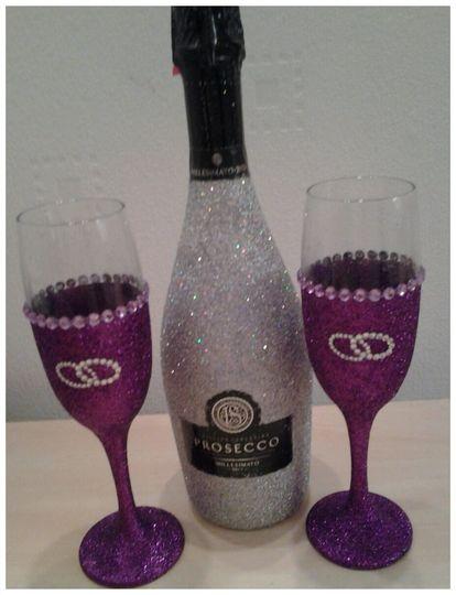 SilverBottle & Purple Glasses