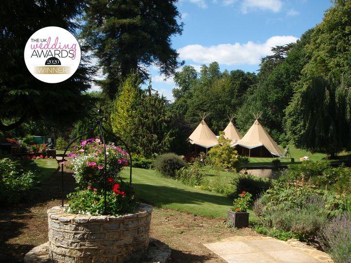 1h a busbridge lakes wedding reception event venue gardens in surrey tipi 3 hat exterior 4 198495 159570057990759