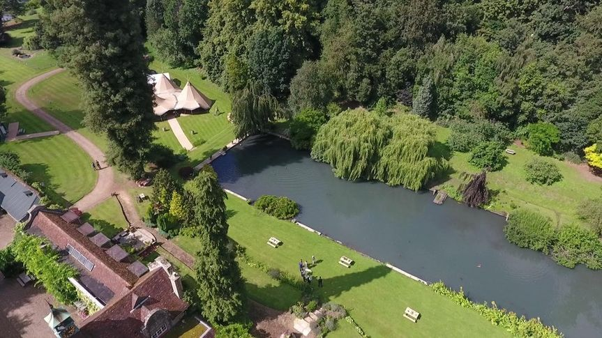 Canal Lake venue - courtesy of Fly Camera Action