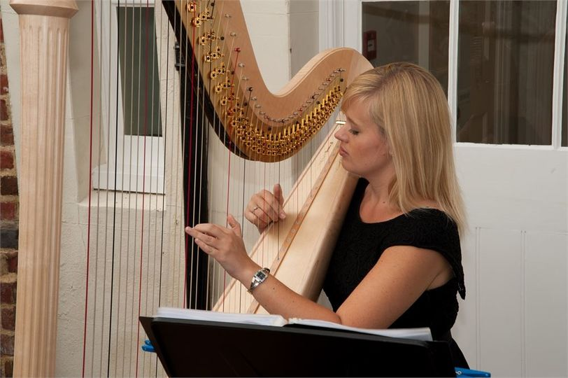Entertainment Nicola Veal Wedding Harpist 7