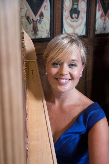 Entertainment Nicola Veal Wedding Harpist 14