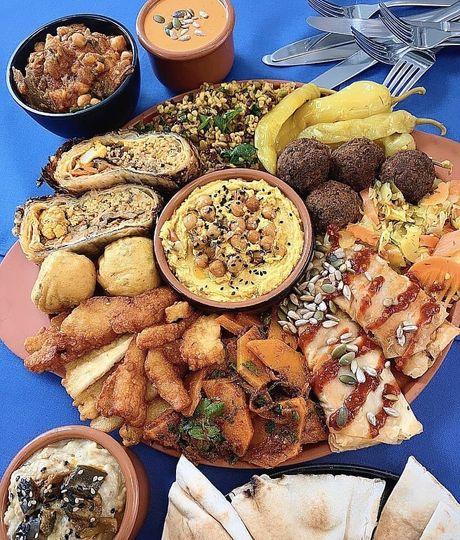 Mezze Sharing Platter
