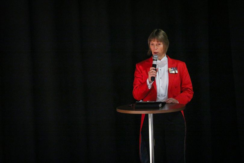 Compere at a Wedding Fayre