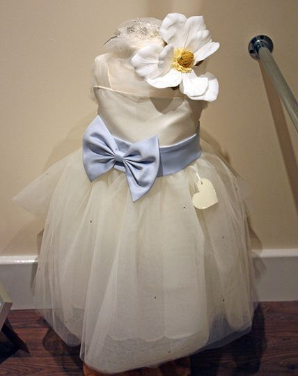 Couture flower girl