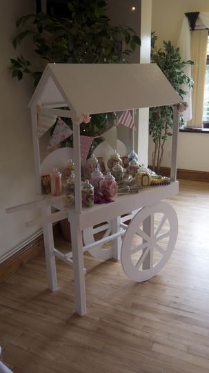 Wedding mini cart