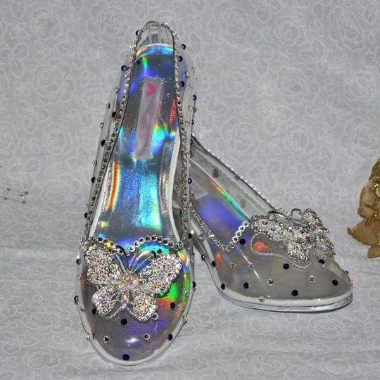 Cinderella Glass Slippers