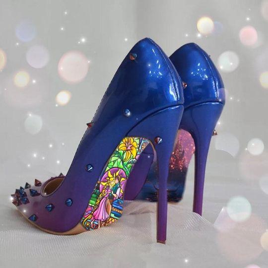 Rapunzel High Heels
