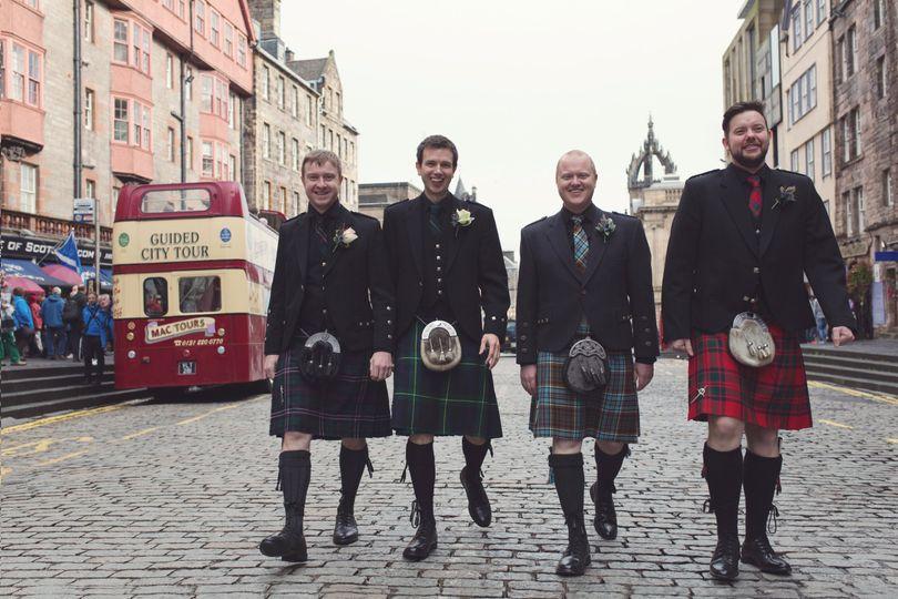 Riddle's Court Royal Mile Scottish Wedding