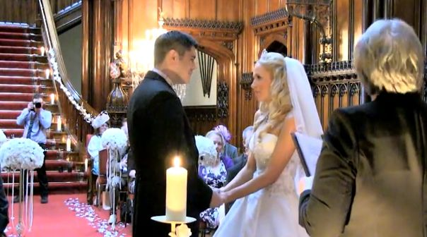 Galloway wedding ceremony