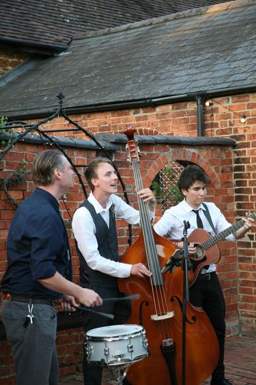 Acoustic trio at Dodmoor House
