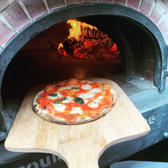 Catering Leather & Willow Authentic Wood Fired Pizza 2