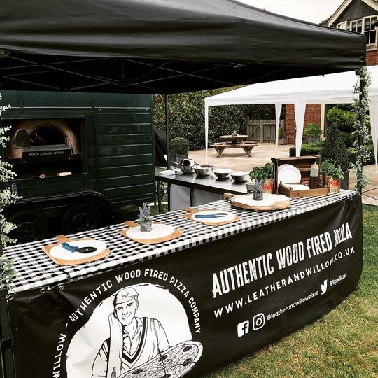 Catering Leather & Willow Authentic Wood Fired Pizza 5
