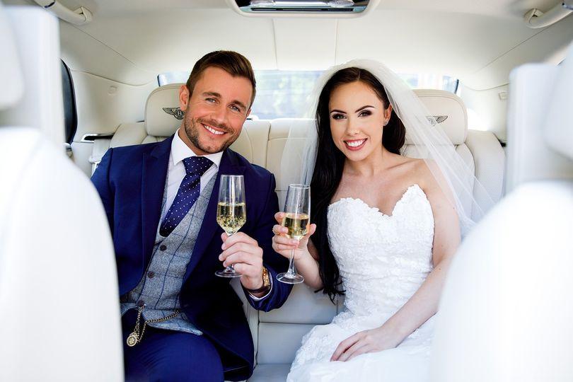 Chauffeured Wedding Cars