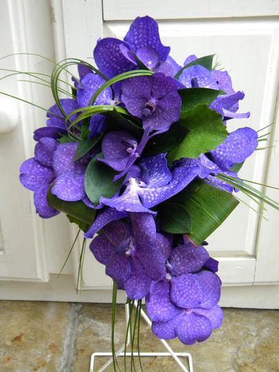 Vanda orchid bouquet
