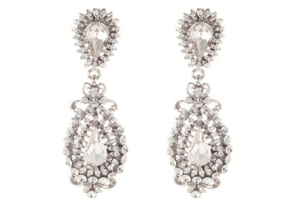 Blossom wedding jewellery and accessories, earrings