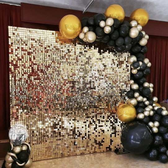 Gold Shimmer wall