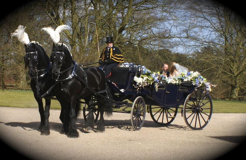 Landau carriage & pair