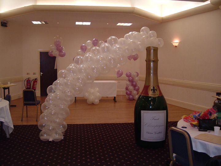 Bottle balloon