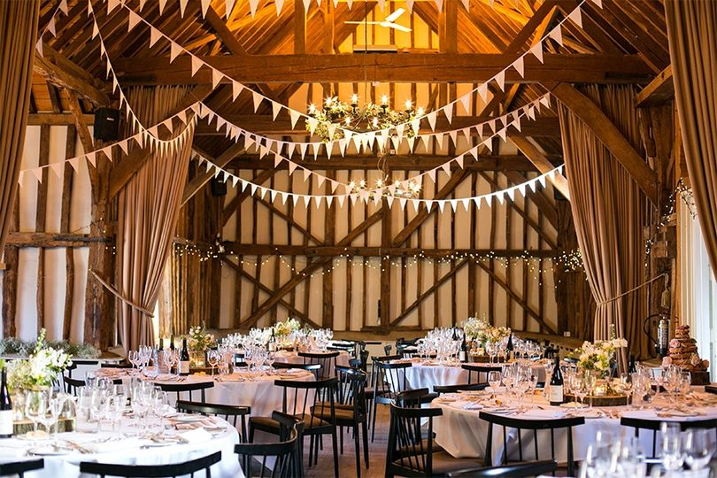 Reception in the Tithe Barn