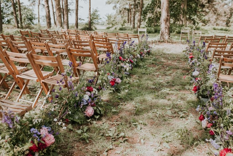 Woodland weddings