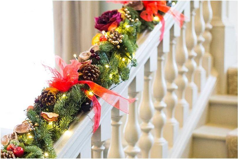 Traditional  Christmas  Garland