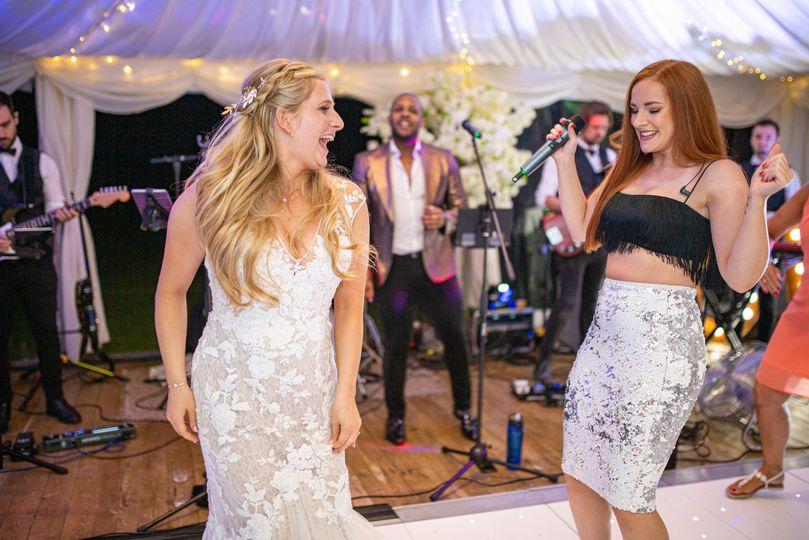 Join the bride on dance floor