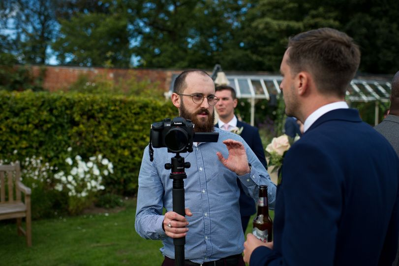 Outdoor wedding coverage - Richard Crilly - Film & Photography