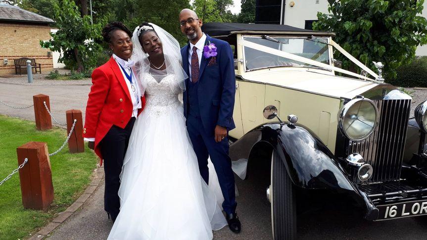 Wedding at Gilwell Park,  Chingford, London