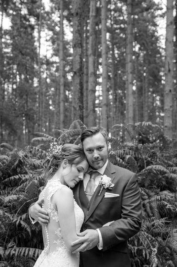 Sandringham woods wedding