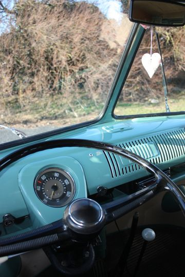 Vintage colours in and out