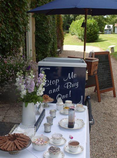Cafe Bon Bon Table of Treats