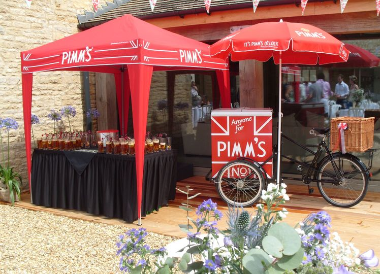 Cafe Bon Bon Pimm's Tricycle