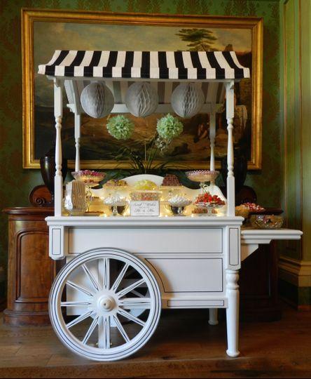 Cafe Bon Bon Sweet Cart