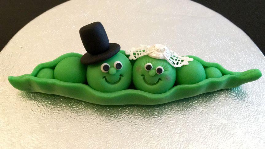 Two peas in a pod topper