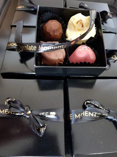 4 luxury chocolate box
