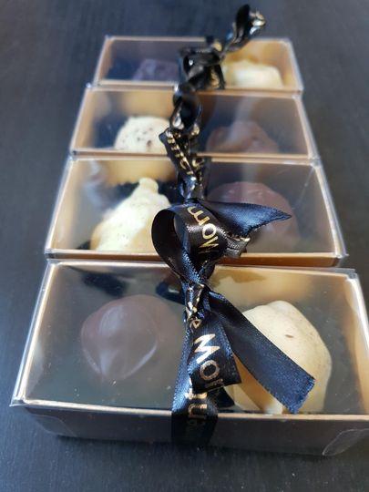 Two truffle favour box