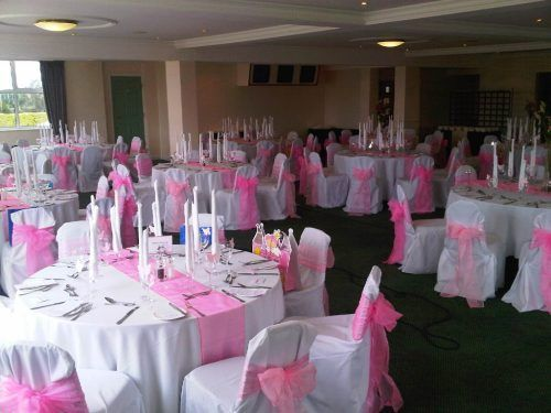 Crystal Chair Covers
